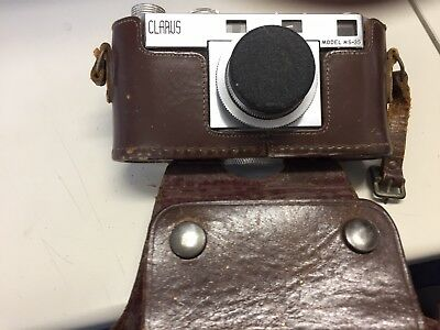 Vintage Clarus Model MS-35 35mm Camera w/ Wollensak Lens USA Made