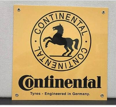 Continental Tires Reproduction Advertising Garage Sign