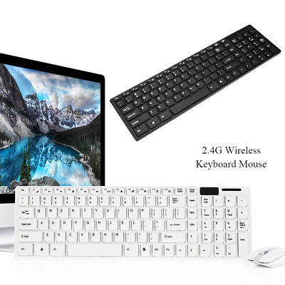 Bluetooth Keyboard and Wireless 2.4G Mouse Combo for PC Windows Laptop MAC  NEW