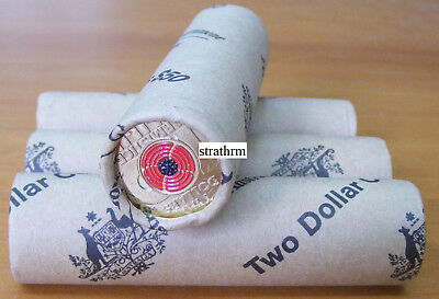 Australia 2018 $2 Remembrance Day Armistice Centenary Ram Roll Of 25 Coins