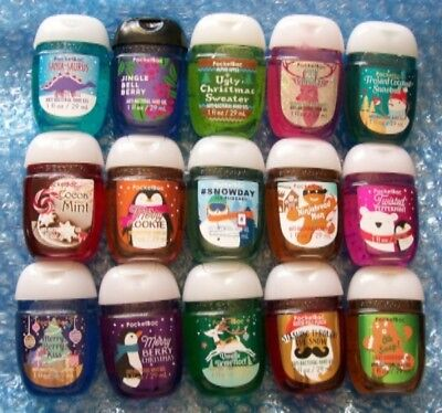 Bath & Body Works Pocketbacs Various Christmas Scents ~ Pick Your Favourites!
