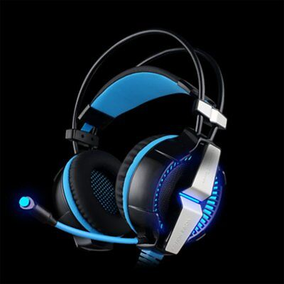 Gaming Headset with Mic for PC,PS4,Xbox One LED Light Autumn Clear Price UK