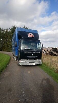 Renault Midlum Removal truck lorry wagon 2003 HGV