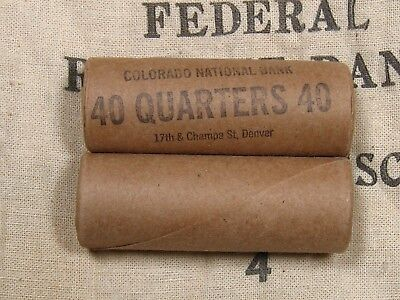ONE - Washington Standing Liberty Quarter Roll 40 Coins 1932-1964 PDS