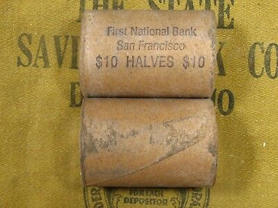 ONE - Walking Liberty Half Dollar Roll 20 Halves 1916-1947 PDS