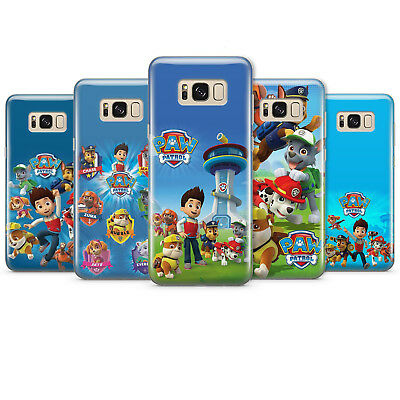 PAW PATROL Dogs Puppy Ryder phone case gel/plastic cover for samsung
