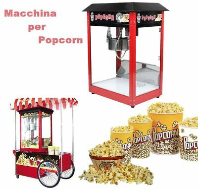 1370W Machine à Pop-corn Pro 8OZ Popcorn Appareil Inox Hôtellerie Machines à pop