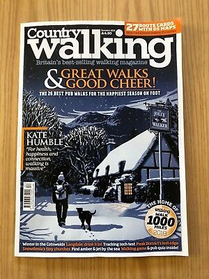 Country Walking Magazine December 2018 New