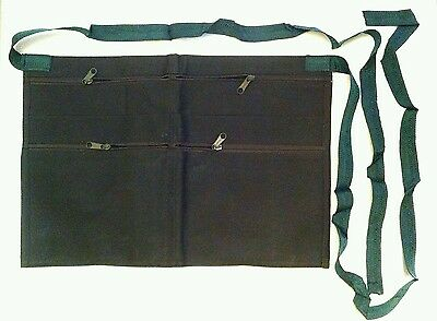 Market Trader Money Belt 6 Pocket Green Bag