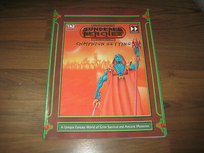 d20 system Sundered Reaches Campaign Setting SC 2003 Fast Forwand Entertainment