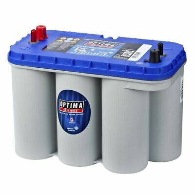 Optima Blue Top AGM Batterie Boot Wohnmobil Versorgung 12 V 75 Ah BT DC-5.5