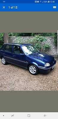 1998/R ROVER 114 GSI 4 DOOR OLD SKOOL CLASSIC CAR ONLY 50k MOTED