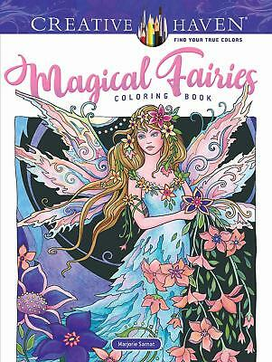 Creative Haven Magical Fairies Colouring Book For Adults