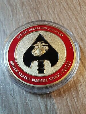 Massiver Special Operations Command Challenge Coin...