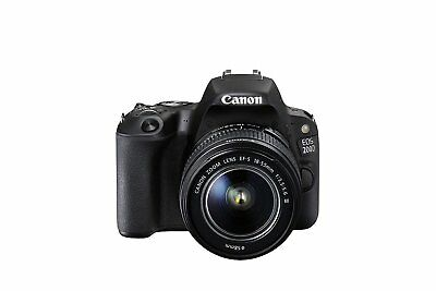 Canon EOS 200D SL2 24.2 MP Digital SLR Camera with 18-55mm EF-S f/3.5-5.6 Lens
