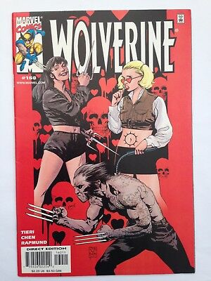 Wolverine #160 (Mar 2001) (Marvel Comics) 1st appearance Director (shadow only)