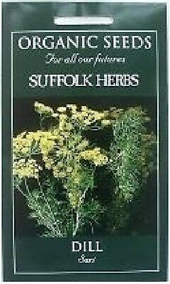 Organic Seed - Vegetable - Suffolk Herbs - Dill - Sari - Pictorial Pack