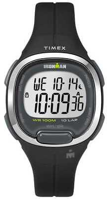 Timex Womens Ironman Essentials 10 Black And TW5M19600 Watch