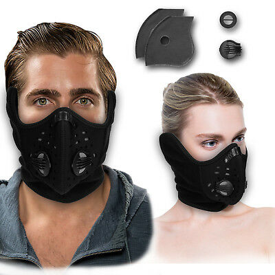 Half Face Mask Filter Anti Dust Bicycle Motorcycle Riding Running Ski Cycling