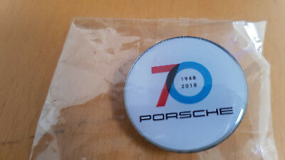 Porsche 70 Years Anniversary Lapel Pin - Limited Edition