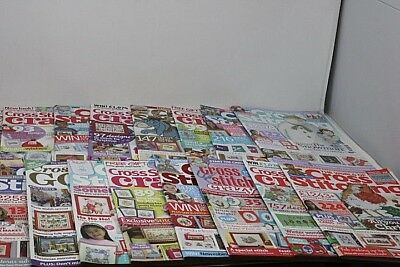 #6 Job lot bundle CROSS STITCH Magazines x 17 Christmas Festive Editions Charts*