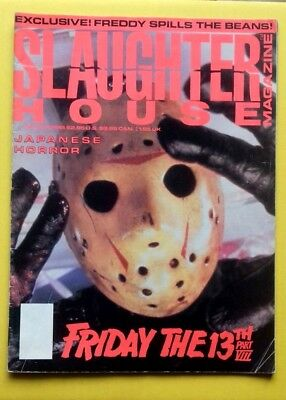 Slaughterhouse Magazine, Issue 5, 1989, Friday the 13th Part VIII, Freddy Kruger