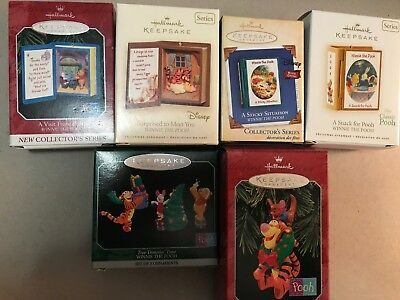 Hallmark Winnie the Pooh *Several from the series*  #1, 7, 10 & 12 plus others