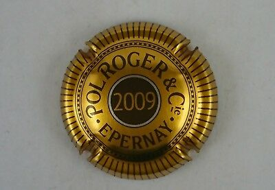 capsule champagne POL ROGER 2009
