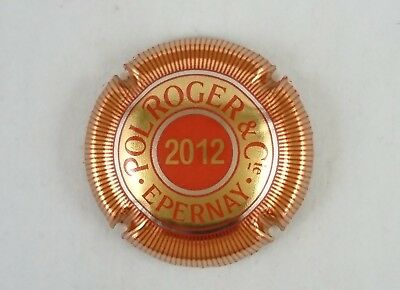 capsule champagne POL ROGER 2012