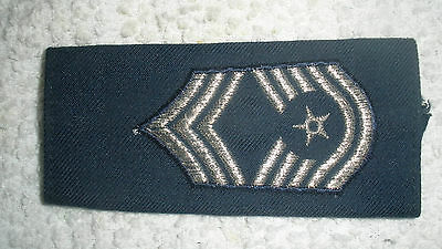 USAF CHIEF MASTER SERGEANT Rank Loop/Sleeve for Epaulet Only ONE Piece