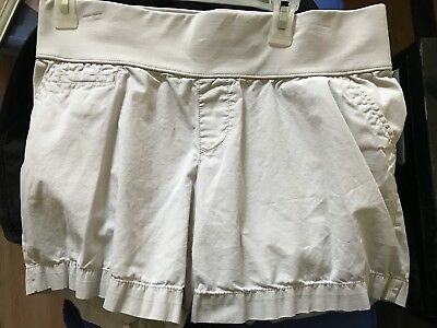 LIZ LANGE For Target Women's Maternity Shorts, Size Medium M, Khaki