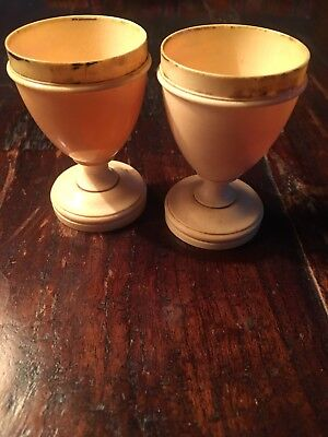 Pair Of Antique egg Cups.