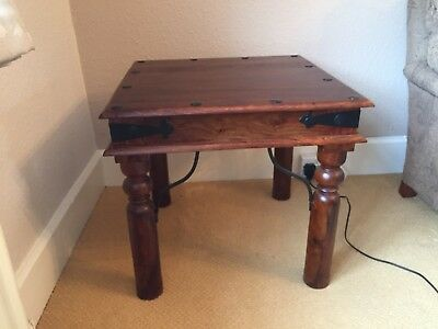 TWO Indian Style Side Tables