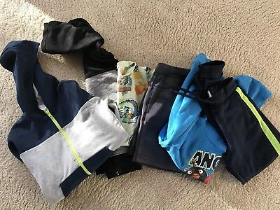 Mixed boys clothes bundle age 7-8 years.