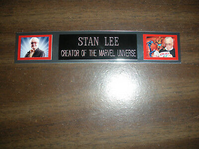 Stan Lee Nameplate For Signed Photo/movie Posters/comic Books