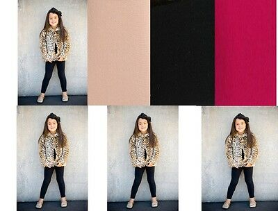 Kids, Children 50 Denier footless Tights, age from 6 to 14 years,many colours