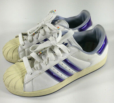 Adidas Scarpe Shoes Schuh Zapatos Vintage Violet Woman