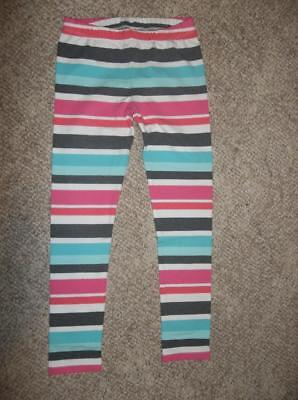 Gymboree Girls Enchanted Winter Striped Leggings – Size 10 - 12 (L) – NWT!