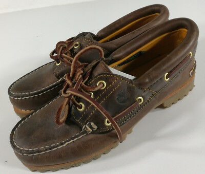 Timberland Mocassino Pelle Scarpe Leather Shoes Schuh Zapatos Vintage