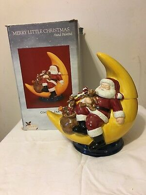David Carter Brown Holidays - Merry Little Christmas Cookie Jar