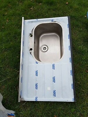 Commercial Stainless Steel Single Bowl Sink