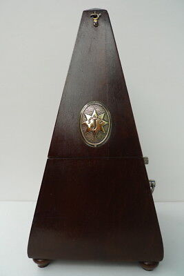 Antique Metronome JUNGHANS WITH BELL - Made in Germany - Rare