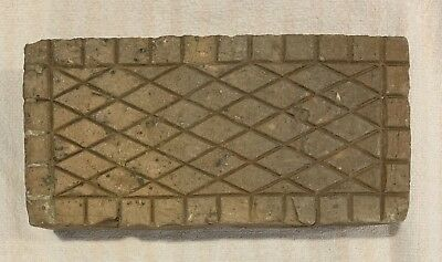 Antique CrossHatch Diamond Brick Paver Virginia #3 of 3 Sidewalk Geometric