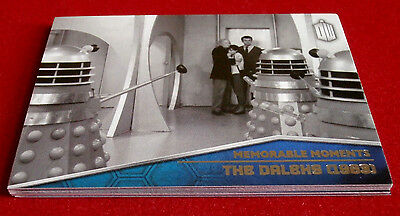 DOCTOR WHO TIMELESS - Memorable Moments - COMPLETE CHASE SET - Topps 2016