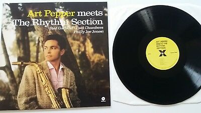 ART PEPPER Meets The Rhythm Section 180 Gr Jazz Vinyl NM Wie Neu WaxTime
