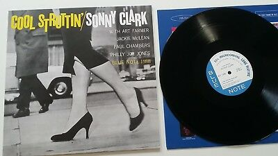 SONNY CLARK Cool Struttin' 180 Gr Jazz Vinyl NM Wie Neu Blue Note