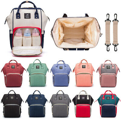 2019 Multi-functional Baby Diaper Nappy Mummy Backpack Waterproof Large Hand Bag