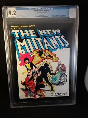 THE NEW MUTANTS, Marvel Graphic Novel No. 4, CGC 9.2