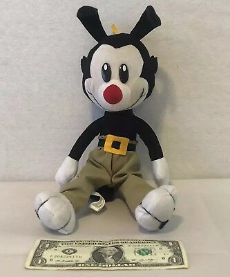 "Animaniacs YAKKO 11"" Plush Toy Doll Warner Bros WB Ace Novelty 1994 TV Show Rare"