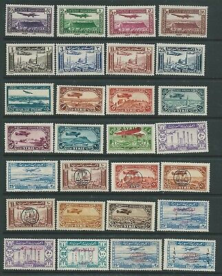 Syria Fresh Looking Lot Air Stamps Mint Hinged Nice!